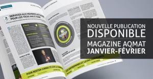 AQMAT - Promo publication magazine Janvier-février 2016