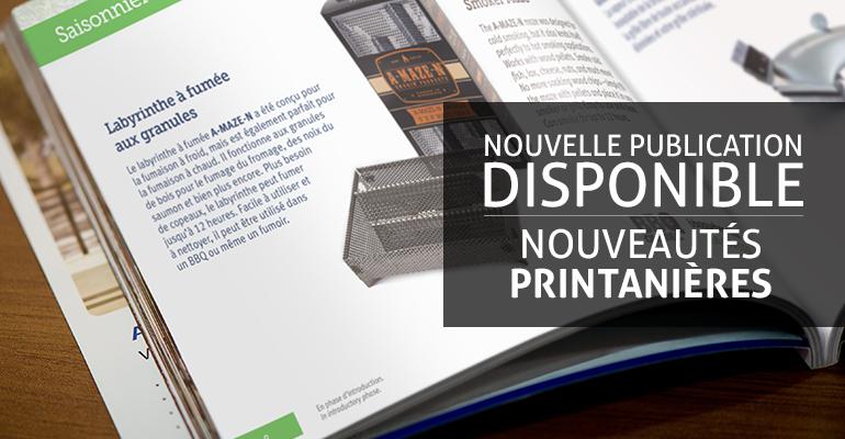 AQMAT - Promo publication Nouveautés printanières 2016