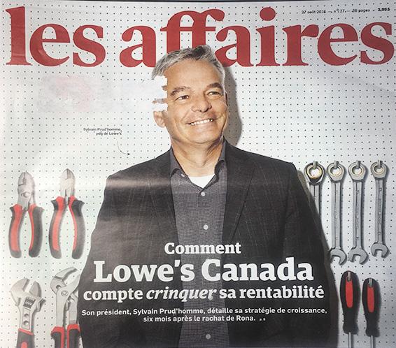 Page couverture des Les Affaires, édition du 27 août 2016