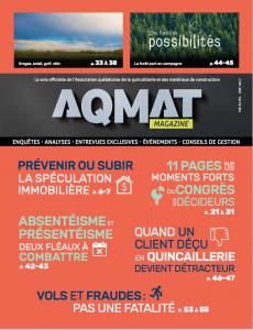 Magazine AQMAT - Juin 2017
