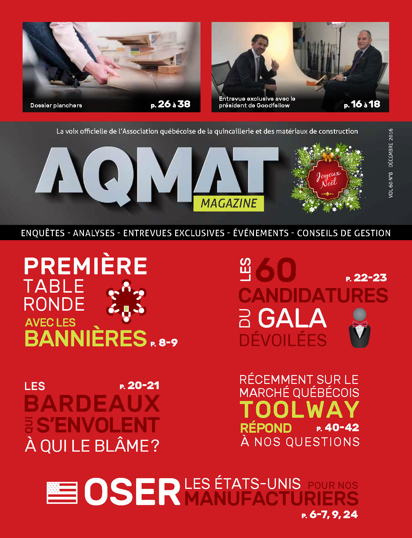 Magazine AQMAT - Décembre 2016