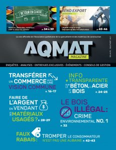 AQMAT Magazine - Juillet-août 2017 cover