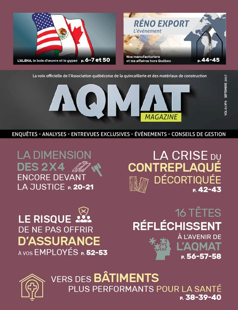 AQMAT Magazine - Septembre 2017